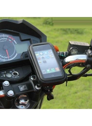 Techmaster Techmaster Bisiklet Motosiklet Atv Telefon Tutucu Su Geçirmez 4-4.7 inc Renkli